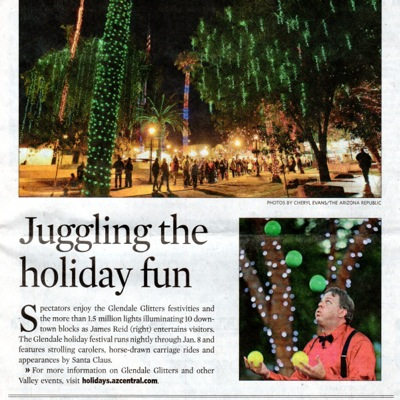 Juggler in Arizona Republic